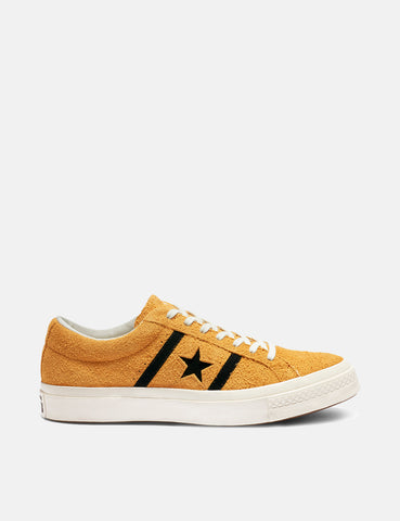 Converse One Star Academy Low Top (163268C) - Amber Ochre/Black/Egret