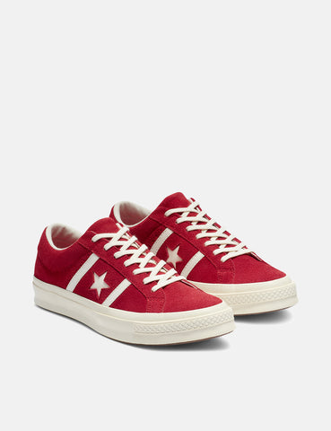 Converse One Star Academy Low Top (163270C) - Enamel Red/Egret/Egret