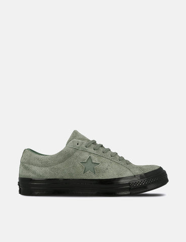 Converse One Star Ox Low Suede (163373C) - Vintage Lichen Green/Black