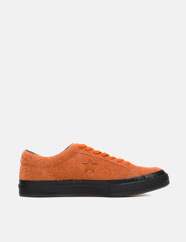 Converse One Star Ox Low Suede (163811C) - Orange Tiger
