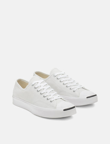 Converse Jack Purcell 164057C (Canvas) - White/White