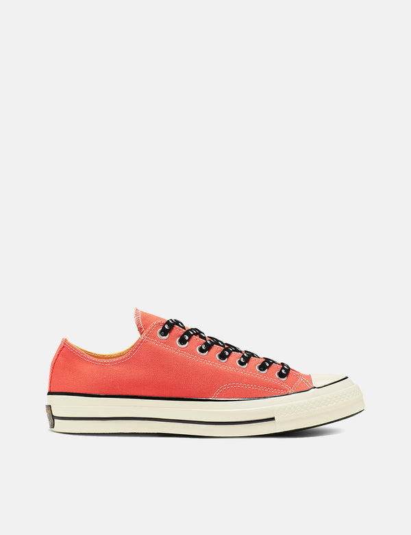 Converse 70's Chuck Low 164213C (Canvas) - Turf Orange/Melon Baller