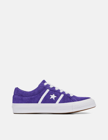 Converse One Star Academy Low Top (164391C) - Court Purple/White/White
