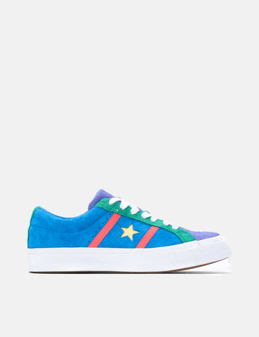 Converse One Star Academy Low Top (164392C) - Totally Blue/Racer Pink