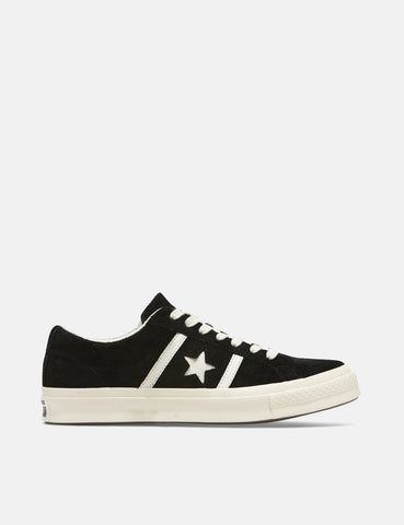 Converse One Star Academy Low Top (164525C) - Black/Egret/Egret