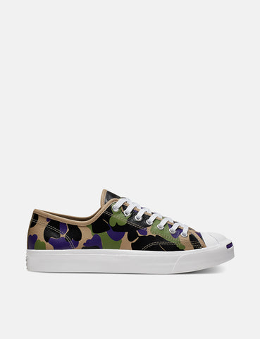 Converse 70's Archive Print Chuck Taylor Low (165963C) - Black/Candied Ginger/Purple