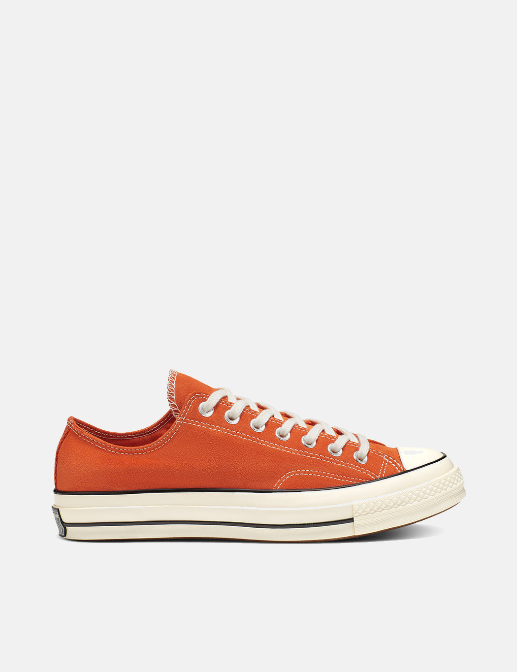 Converse 70's Chuck Taylor Low 166217C (Suede) - Campfire Orange/Black/Egret