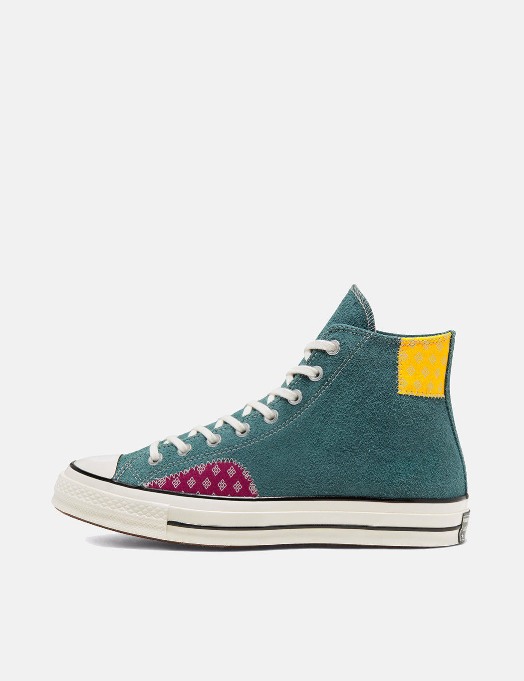 Converse Twisted Prep 70's Chuck Taylor Hi (166853C) - Faded Spruce/Amarillo