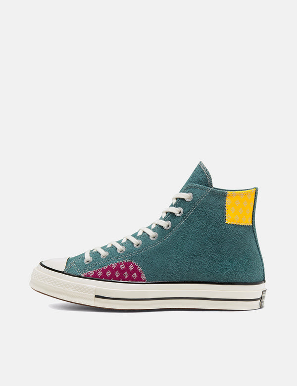 Converse Twisted-Prep 70er Chuck Taylor Hallo (166853C) - Faded Fichte / Amarillo