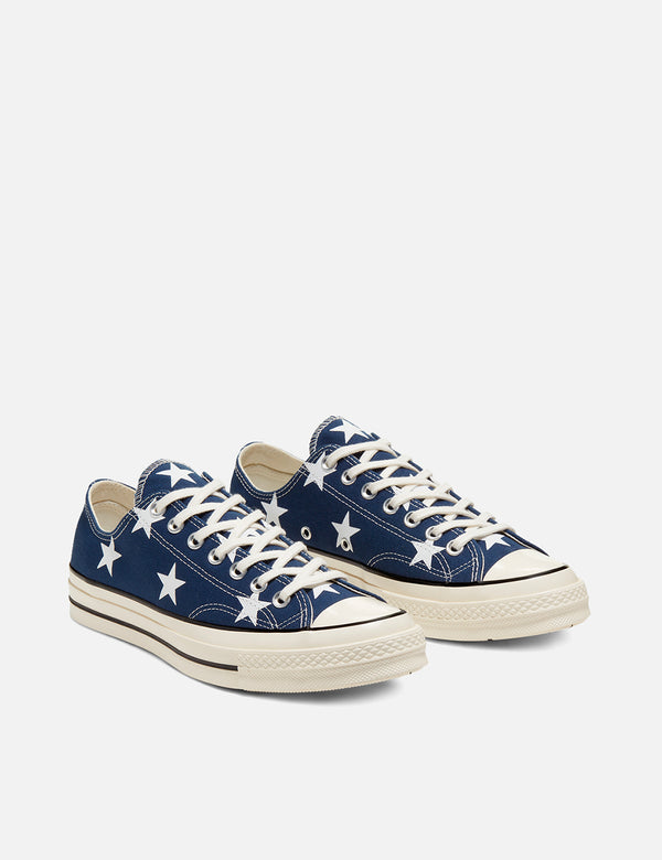 Converse 70's Chuck Taylor Archive Print Ox Canvas (167812C) - Navy/White/Egret