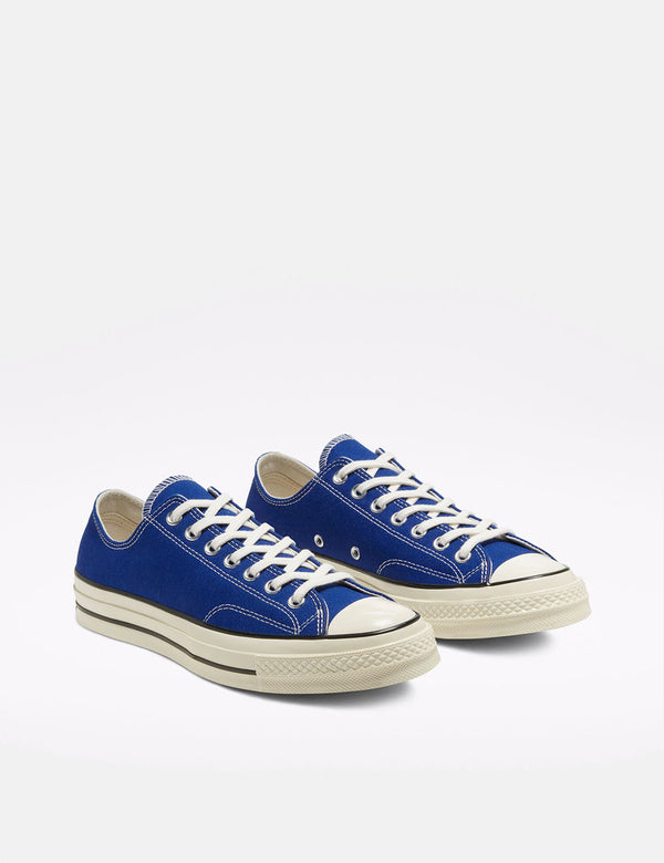 Converse 70's Chuck Taylor Ox Canvas (168514C) - Rush Blue/Egret/Black