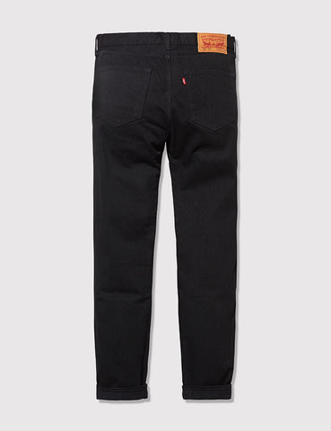 Levis 501 CT Customised Tapered Fit Jeans - Black Rinsed