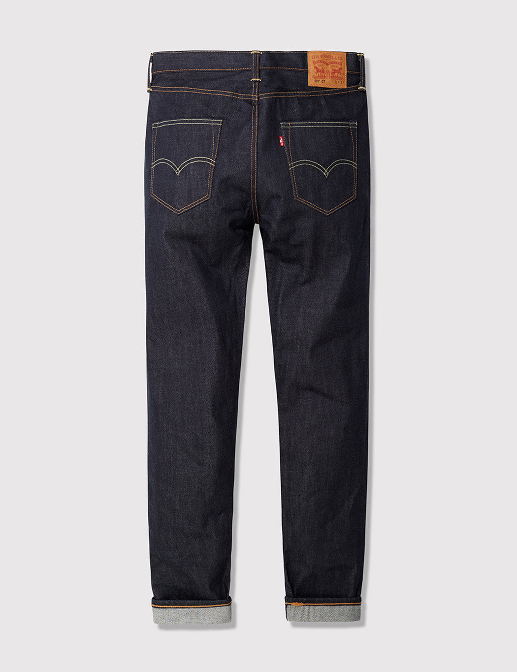 Levis 501 CT Customised Tapered Jeans - Long Day Rigid Blue
