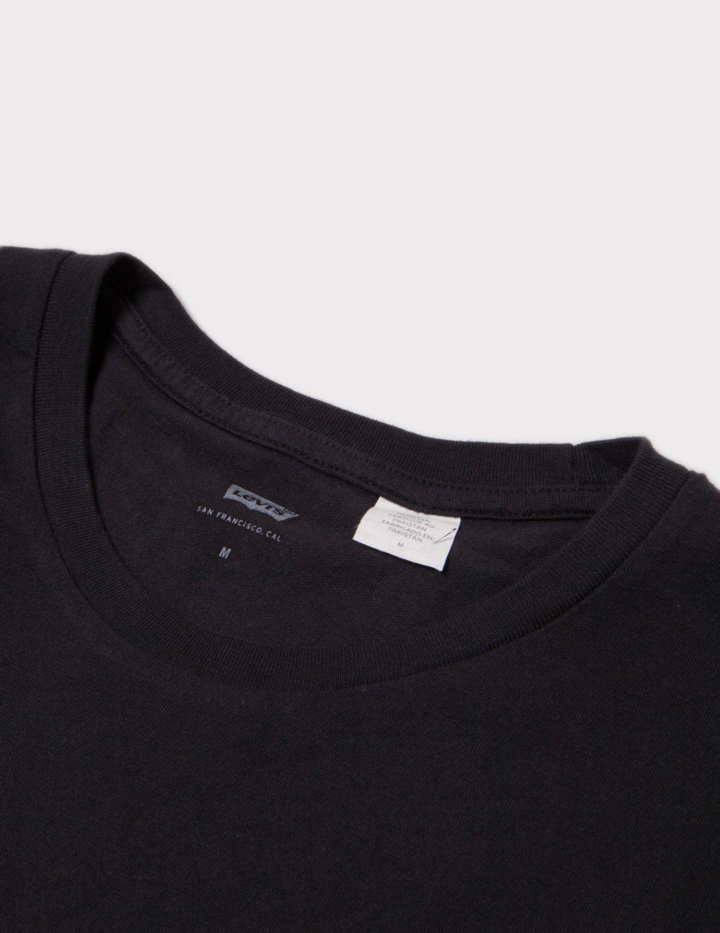 Levis Woodmark Print T-Shirt - Black