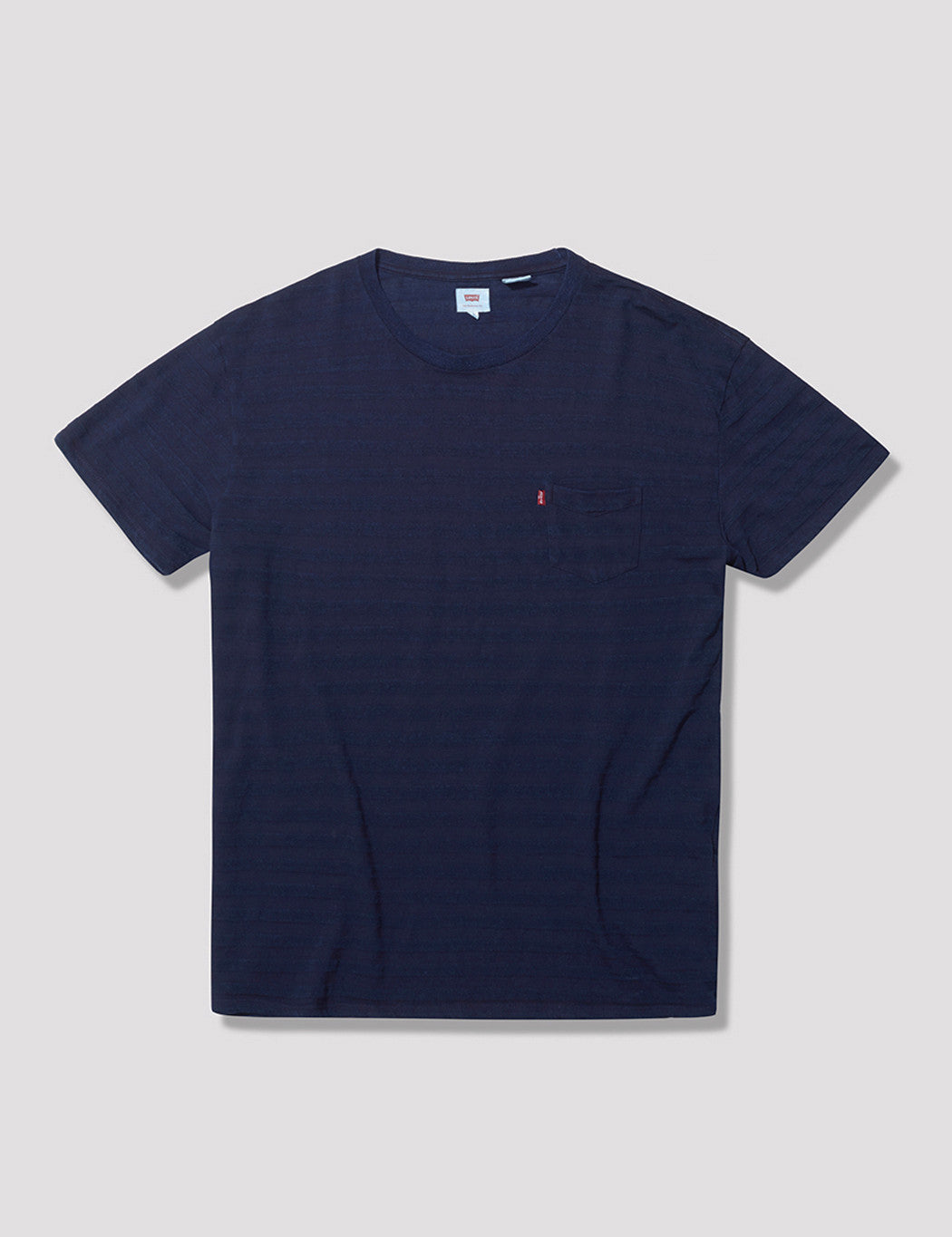 Levis Sunrise Striped Pocket T-Shirt - Indigo