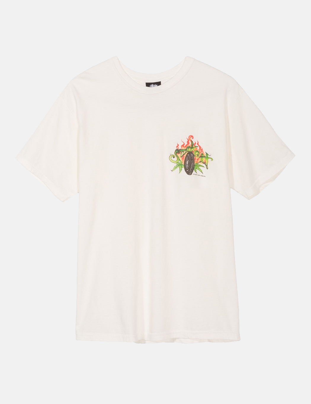 Stussy Smoke It T-Shirt - Natural