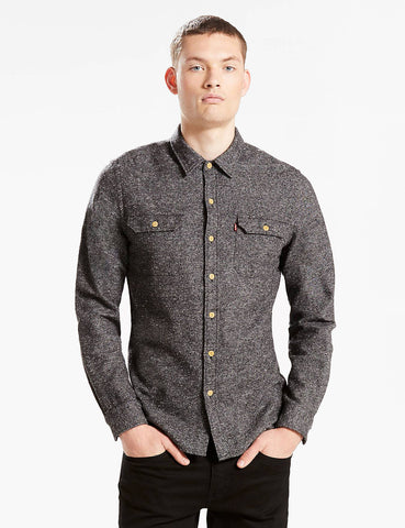 Levis Jackson Worker Shirt - Dark Grey