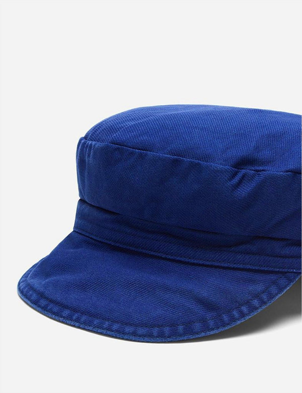 Casquette Vetra French Bakerboy (Dungaree Wash Twill) - Hydrone Blue