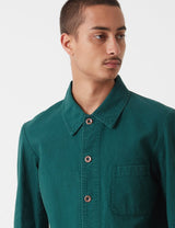 Vetra French Workwear 4 Jacket Short (Twill Cotton) - Bottle Green - Article