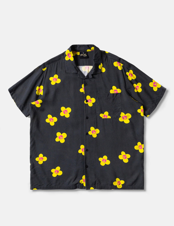 Stan Ray Tour Shirt - Black Garden