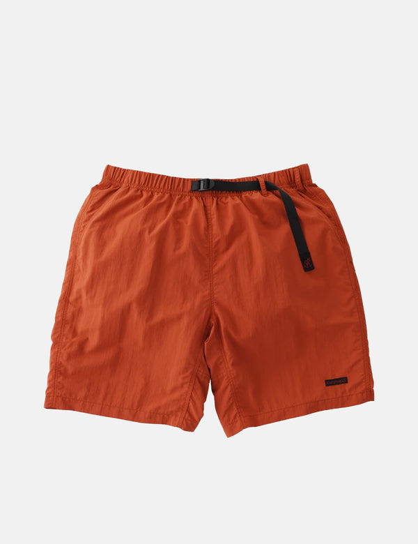 Gramicci Shell Packable Shorts (Twill) - Terracotta