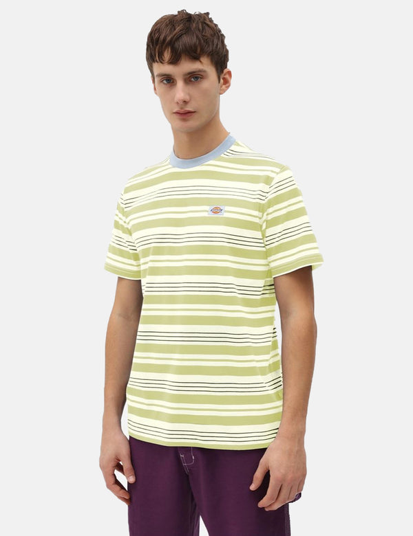 T-Shirt Dickies Wheaton (Rayé) - Mellow Green
