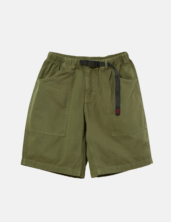 Gramicci Mountain Shorts - Olive Green