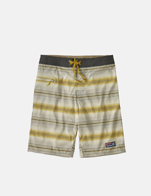 Short de bain Patagonia Stretch Wavefarer (21 po) - Rotation:gris plume