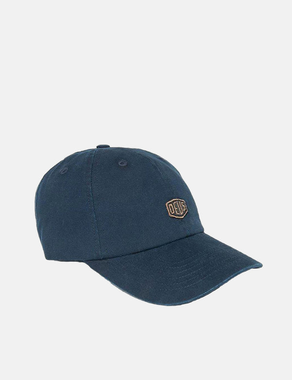 Casquette Deus Ex Machina Shield Standard Dad - Navy Blue