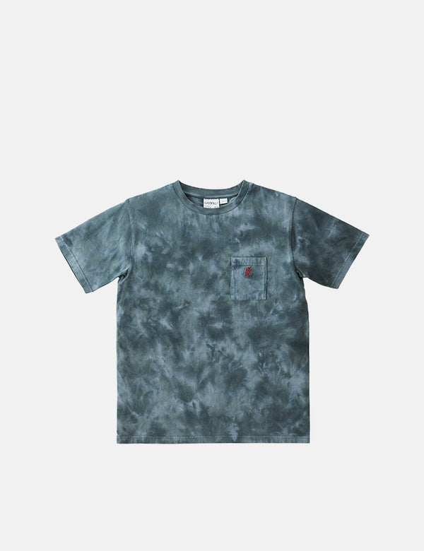T-Shirt Gramicci One Point Pocket (Tie Dye) - Gris