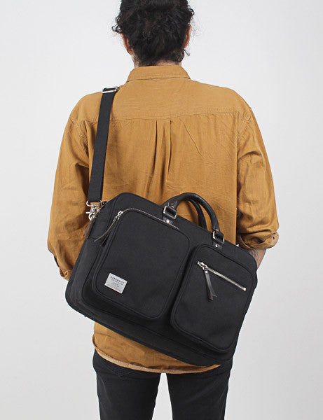Sandqvist Arne Cordura Laptop Bag - Black