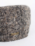 Stetson Madison Flat Cap - Brown Donegal Tweed