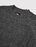 Dickies Goodland Knitted Jumper - Dark Grey Melange