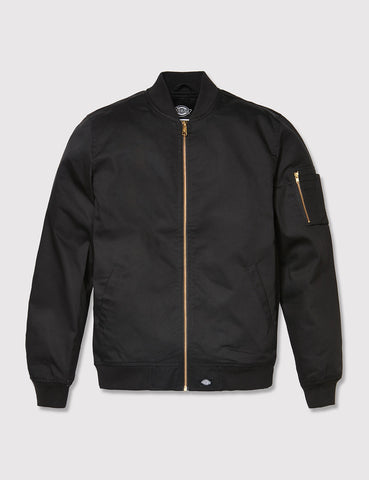 Dickies Hughson Bomber Jacket - Black