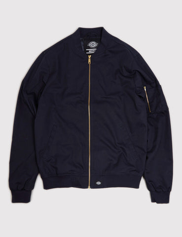 Dickies Hughson Bomber Jacket - Dark Navy