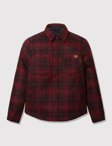 Dickies Charlestown Plaid Jacket - Red/Black