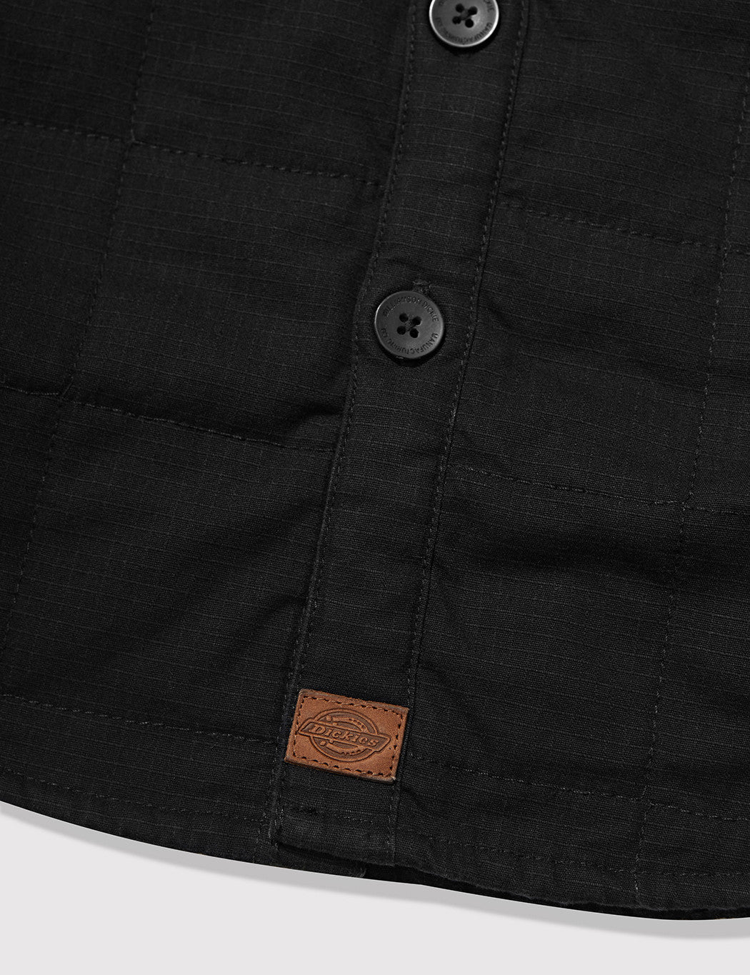 Dickies Judson Quilted Over Shirt - Black