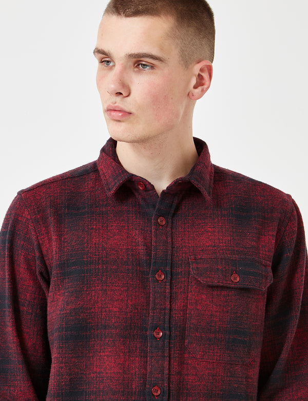 Dickies Ivyland Checked Shirt - Red