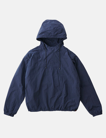 Gramicci Packable Anorak Parka - Double Navy Blue
