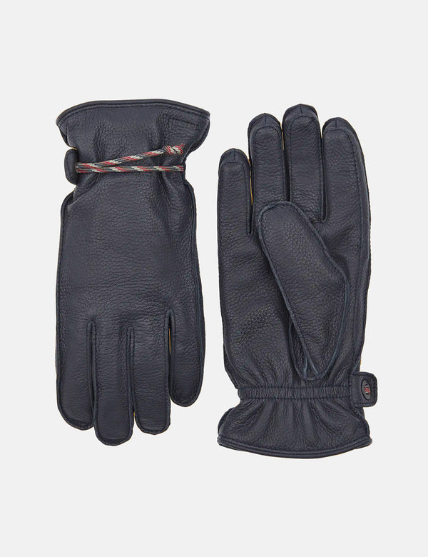 Hestra Granvik Gloves (Elk Leather) - Navy Blue