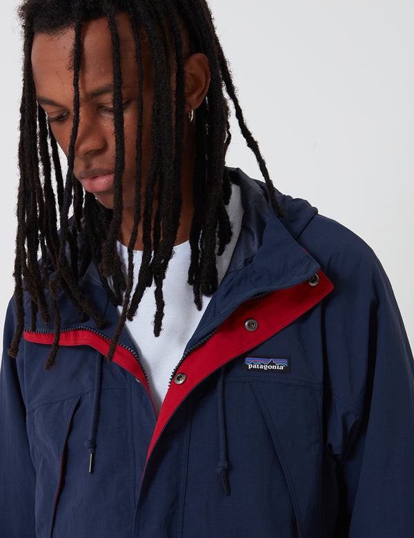 Patagonia Recycled Nylon Parka Jacket - New Navy Blue