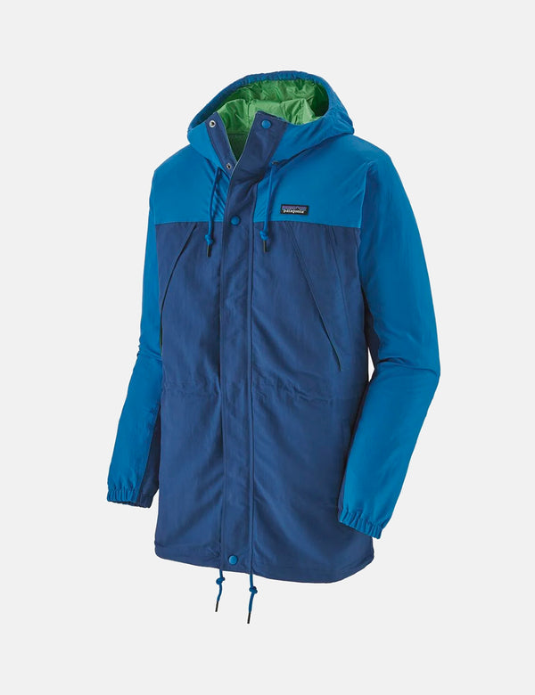 Patagonia Recycled Nylon Parka Jacket - Superior Blue