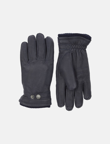 Hestra Utsjo Sport Gloves (Leather) - Navy Blue