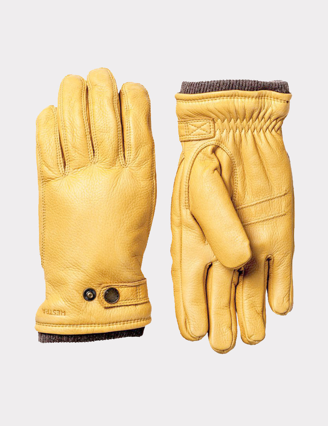 Hestra Utsjö Sport Gloves (Leather) - Natural Yellow