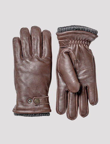Hestra Utsjö Sport Gloves (Leather) - Espresso