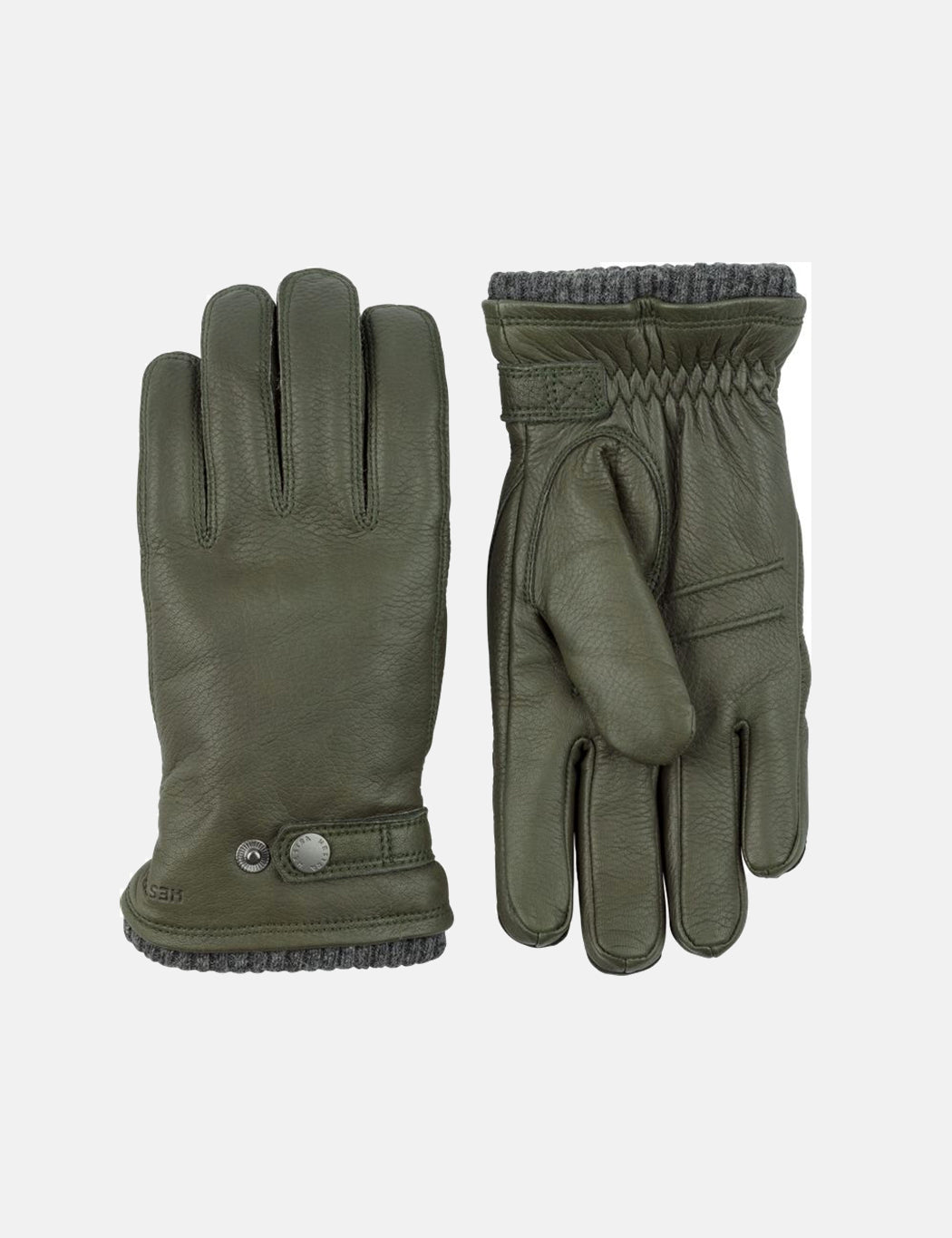 Hestra Utsjo Sport Gloves (Leather) - Forest Green