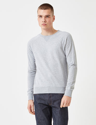 Gant Rugger The Sweat Sweatshirt - Grey Melange