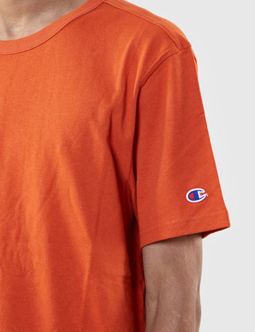 Champion Reverse Weave T-Shirt - Orange