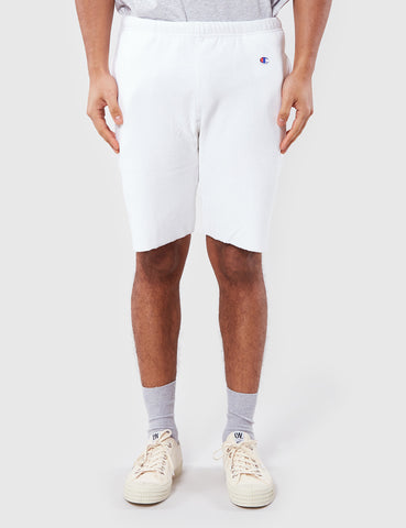 Champion Tracksuit Shorts - White