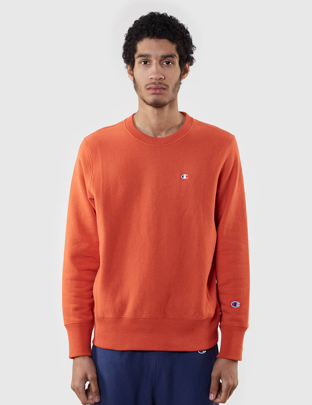 Champion Reverse Weave Sweat - Orange